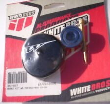 EXTENDED FUEL MIXTURE SCREW AND ANODIZED BLUE OIL FILL CAP FOR YAMAHA YZF250/450