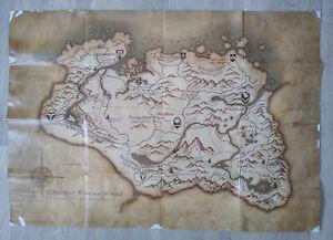 TES V: Skyrim Karte