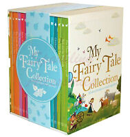 NEW My Fairy Tale Collection 18 Storybooks Library Story Books Kids Gift Set!