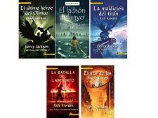 Percy Jackson y Los Dioses del Olimpo Rick Riordan 5 Libros Envio Gratis