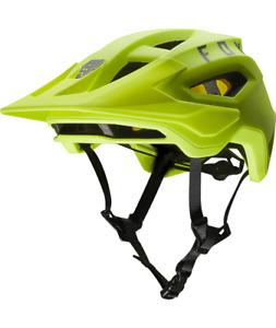 Fox Racing Speedframe Helmet Mips [Flo Yellow] M