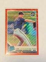 2019 Donruss Optic RATED ROOKIE #74 Stephen Gonsalves, Red Wave Parallel