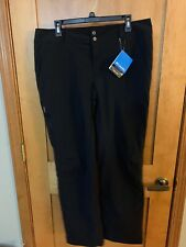 NWT Columbia Saturday Trail Stretch Lined Pants - India Ink - sz 14 - retail $80