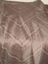 BROWN SUGAR  brown with peach chevron stripe   size 12   new new