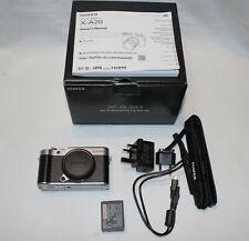 Fujifilm X-A20 compacts Caméra Numérique (Boîtier Seulement) argent