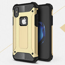 Screen Protect Slim Hybrid Hard Armor Back Case For Apple iPhone XS XR 11pro 8 7