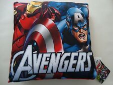 New Avengers Kids Cushion Reversible Teens Marvel Hulk Thor Iron Man Comics BNWT