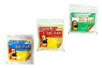 10 BAGS OF ZIG ZAG SLIM MENTHOL / SLIM / ULTRA SLIM FILTERS TIPS PACKS SMOKING