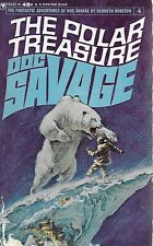 *DOC SAVAGE #4: THE POLAR TREASURE  by Kenneth Robeson - 1st Paperback Printing