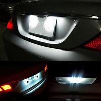 2 Pcs Vauxhall Insignia W5W LED Number Plate Light BULBS Error Free XENON White
