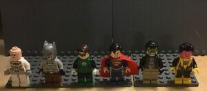 LEGO DC Comics: Superman, Batman, Robin Minifigures