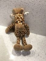 "Russ Large Giraffe Plush Soft Toy Approx 18"" Beanie Wildlife Africa Cute"