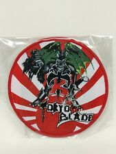 Tokyo Blade band patch for Jacket, T-shirts, Iron on Woven Badge U.S Seller
