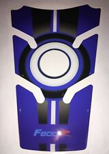 Motorcycle Tank Pad Protector Sticker | (BMW) F800R BLUE