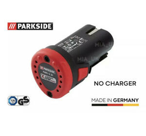NEW 2ah Battery for Parkside 12V Multi-Purpose Tool PAMFW 12 C3 / PAMFW 12 B2