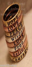 BULK PACK OF 10 x RINGS SIZE 6.75  Wicca Witch Pagan Yoga Goth VINTAGE STYLE