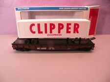 Walther's Trainline Freight Car WC 36302 Tractor Trailer Transport