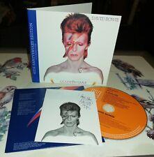 "DAVID BOWIE ""ALADDIN SANE -40th digi-"".New and sealed cd"