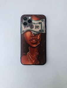 For iPhone 11/11 pro iPhone Case Melanin Poppin  Queen Afro Black Girl