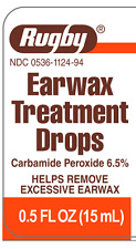 Rugby Ear Wax Treatment Drops 6.5% 15ML