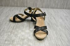 ** Hush Puppies Women's Mariska Heeled Sandals - Black - Size 8.5 W