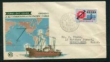 Australian First Day Cover. 1963 2/3 pacific cable