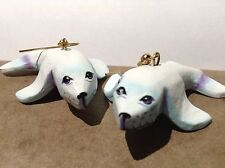 Seal Earrings 3d Harp Pair Earring Baby Pup Sea Lion New Drop And Dangle Animal