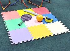 8 confezioni di Bambini Sicurezza Pavimentazione Piastrelle Schiuma EVA Interni Esterni 72 Piastrelle PLAYM