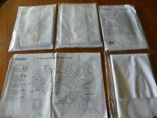 24 Herrschners 07-3416 Larkspur Wreat Stamped for Emb Quilt Blocks