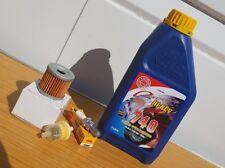 Pulse Lexmoto Adrenaline 125 Supermoto Service Kit Spark Plug Oil Fuel Filter