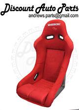 BRIDE VIOS 3 III Red Gradation Seats Low Max JDM BUCKET Racing Drift PAIR