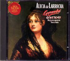 Alicia de LARROCHA: GRANADOS Goyescas Danza lenta El Pelele Allegro de Concierto