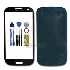 Samsung Galaxy S3 S iii GT i9300 Lens Outer Glass Touch Screen Replacement Blue