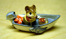 = Wee Forest Folk - For Sale is One (1) Fishin' Chip (Ms-14)
