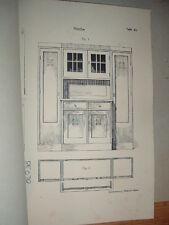 Lockenberg, Einfache Möbel im modernen Stil, orig. Katalog Art Deco Möbel 1923