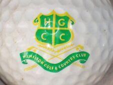 (1) HAMILTON GOLF & COUNTRYCLUB  COURSE LOGO GOLF BALL (ANCASTER ONTARIO CANADA)