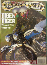 Classic Bike Magazine May 1994 Tiger Triumph T110 shoot-out BSA Blue Star H-D