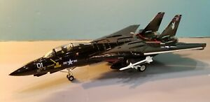 """ARMOUR MODELS (98041) US NAVY F-14 VX-4 """"PLAYBOY"""" 1:48 SCALE DIECAST METAL MODEL"""