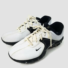 NIKE Power Channel Golf Shoes Golf Dress Saddle Oxfords, Size 6 Y ( 317480-101 )