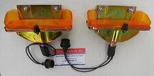 Lamp Park Light Assembly Chevelle 65 ElCamino Pair Malibu Parking Turn Signal