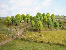 NOCH 26801 H0/TT árboles de hoja caduca, 25 Stück, 5 - 9 cm de alto