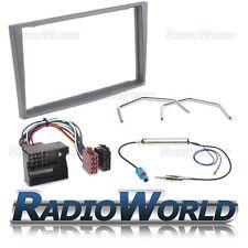 ANTRACITE Vauxhall Astra H GRUPPO Fascia RADIO STEREO DOPPIO DIN ISO kit di montaggio