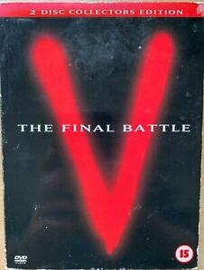 V The Final Battle DVD 1984 Cult Alien Invasion Sci-Fi TV Classic Mini Series
