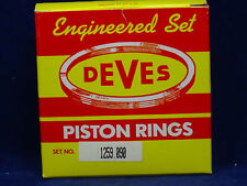 Deves Piston Rings for Triumph TR4 TR4A 86mm +.090 - 1259.090