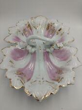 Vintage Porcelain Divided Bowl Joseph Schachtel - Germany Ornate Numbered
