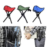 Outdoor Portable Lightweight Chair Camping Hiking Fishing Folding Picnic Seat Fy