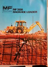 Massey Ferguson MF 30B Backhoe Loader Brochure
