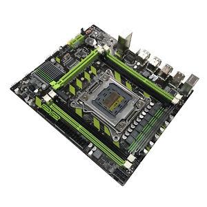 X79 Motherboard 8 USB LGA2011 Socket DDR3 Mainboard for E5 2650 RECC Memory