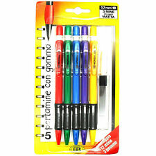 Soft Grip 0.7mm HB Mechanical Refillable Pencil With Extra Lead & Eraser