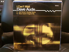 """Dave Aude - I Can't Wait Record 2 (DF021R) 2000 (12"""" Single)"""